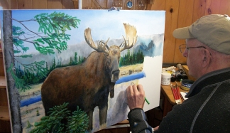 Into The Brush Art Experience