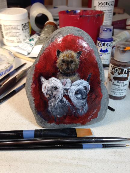SOUL stone dogs
