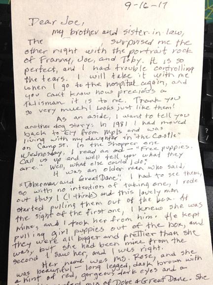 Soul Stone recipient note