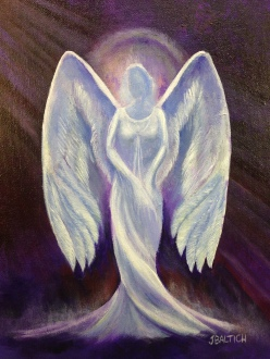Angel, angel art, joebaltichart,